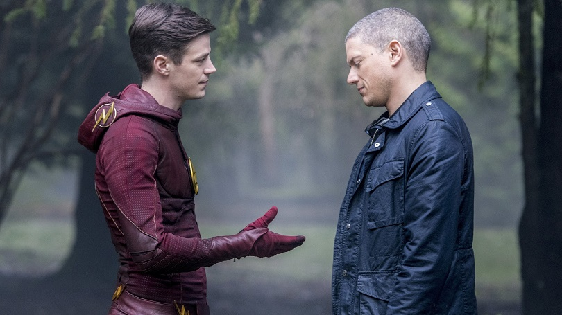 Estranhas alianças... A parceria de Flash e Leonard Snart é um dos pontos altos da trama. (Foto: The CW)