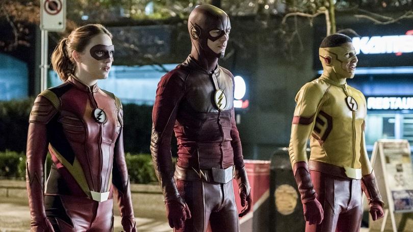 Nesta temporada, é possível ver o casal Jesse Quick (Violett Beane, de The Leftovers) e Kid Flash a toda velocidade. (Foto: The CW)