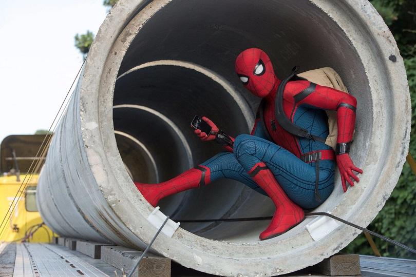 Com o The Spider-Man: Homecoming App, você tem o telefone do Homem-Aranha! (Foto: Sony Pictures)